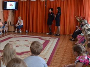 Зеленоградские дошколята повторили «Правила маленького пешехода»