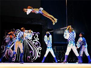 Цирк Никулина выступит на льду в ДК