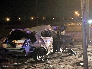 Два человека погибли в аварии у 20-го микрорайона