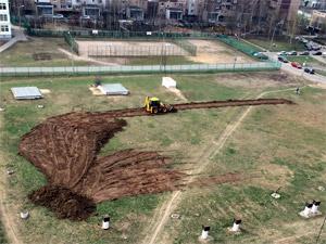 Над бомбоубежищем в 14-м микрорайоне построят регбийное поле