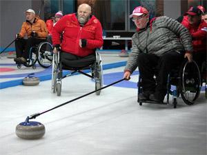 Зеленоградцам покажут мастер-класс по керлингу на колясках от членов сборной России
