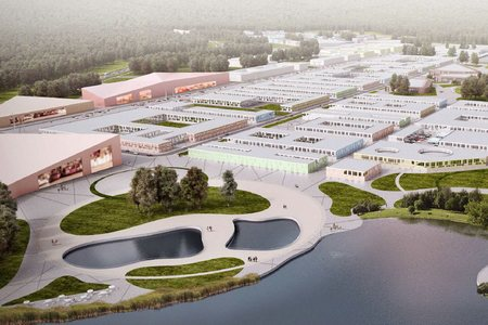 К 2022 году в Чашниково возведут 700 тысяч кв. метров недвижимости