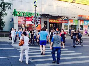 У станции Крюково в «новом городе» заработал новый светофор