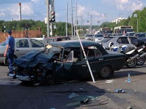 В аварии на Панфиловском серьезно пострадал ребенок