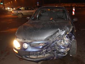 В аварии на Георгиевском проспекте пострадал молодой житель Менделеево
