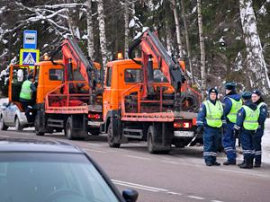 10 февраля на дороги Зеленограда выйдут 10 эвакуаторов
