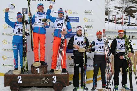 Матвей Елисеев выиграл очередную «бронзу» на Кубке IBU
