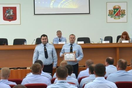 В отдельном батальоне ДПС Зеленограда подвели итоги работы за 6 месяцев 2016 года