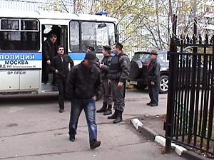 В августе полиция задержала триста иностранцев