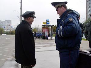 За день «гаишники» составили 60 протоколов на пешеходов