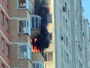В 20-м микрорайоне сгорела квартира