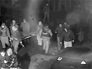 Обнародовано видео с места перестрелки байкеров