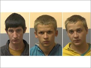 В «новом городе» по «горячим следам» задержали троих разбойников