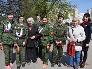 Накануне Дня Победы в Зеленограде стартовала акция «Георгиевская ленточка»