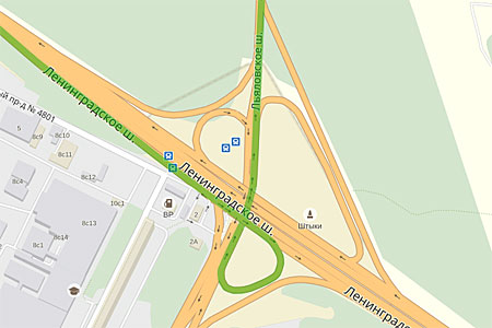 Основную проезжую часть ленинградского шоссе планируется расширить до
