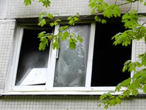В 4-м микрорайоне сгорела кухня квартиры