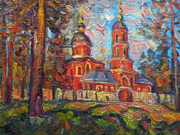 Живописный Зеленоград в открытках