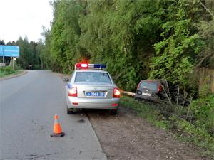 В Андреевке водитель сбил пешехода и сбежал с места ДТП