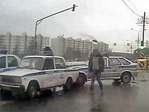 ДТП с полицейскими