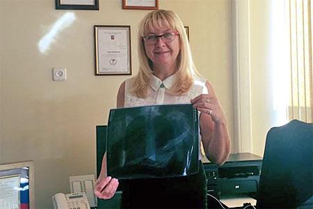 Главврач 201-й поликлиники поддержала онлайн-акцию «Флюшка на память»