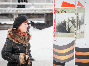 Военный концерт у станции Крюково