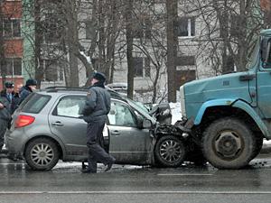В разбившейся у «Банка Москвы» машине все были пьяны
