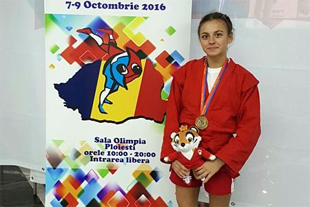 16-летняя зеленоградка выиграла молодежный чемпионат мира по самбо