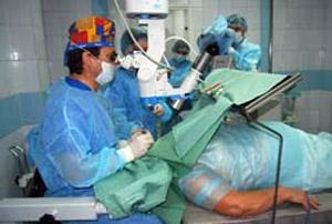 Операции на глазах в округе начнут делать через месяц-два