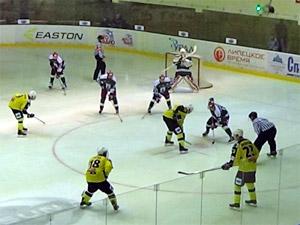 ХК «Зеленоград» потерпел первое поражение в сезоне