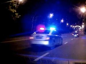 18-летнего ночного гонщика арестовали на 14 суток