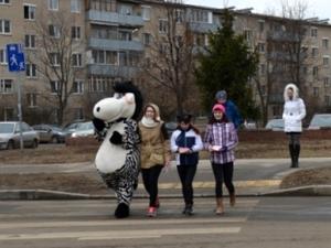 Акция «Зебра» прошла в Зеленограде