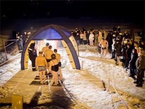 На Крещение купальщиков не пустят на лед