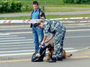 Переход на улице Гоголя оцепили из-за подозрительного пакета