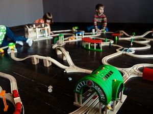В «Ведогонь-театре» в выходные будет работать огромная детская железная дорога