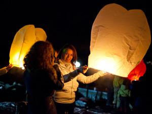 В Зеленограде замахнутся на мировой рекорд по запуску фонариков