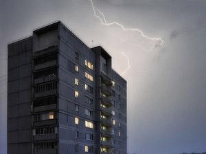 Из-за ливня протекла половина жилых домов