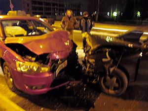 Пьяный водитель без прав устроил лобовое ДТП