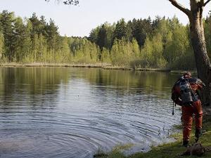 В Черном озере утонул мужчина