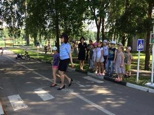 Итоги профилактического мероприятия «Маленький пешеход»