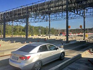 Стоимость проезда по Новой Ленинградке будет зависеть от высоты автомобиля и количества осей