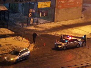 На улице Андреевке автомобиль сбил пешехода-нарушителя