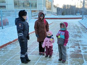 В Зеленограде сотрудники ГИБДД провели акцию «Засветись!»