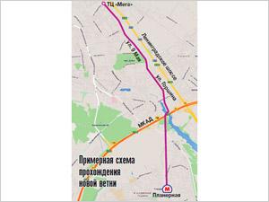Химки нашли инвестора для метро от «Планерной» до «Меги»