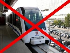 Зеленоград остался без легкого метро