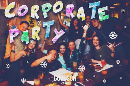 Проведите свой лучший новогодний корпоратив в Goodson Bar
