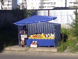 Рынки во дворах