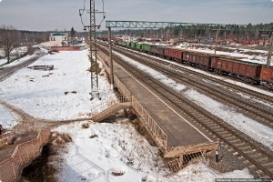 Под Поварово локомотив столкнулся с грузовиком
