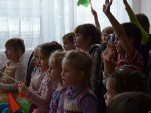 Зеленоградские школьники рассказали дошколятам о Правилах дорожного движения