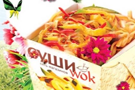 Постное меню в зеленоградском кафе-магазине «СушиWok»