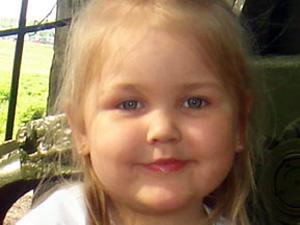 Мать опознала убитую 4-летнюю дочь